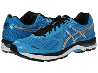 Asics Gt 2000 3 Turquoise Silver Black Men's Running Shoes Blue
