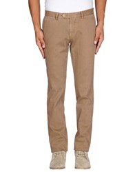 Tagliatore Trousers Casual Trousers Men Light Brown