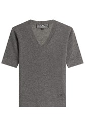 Salvatore Ferragamo Cashmere Top Grey
