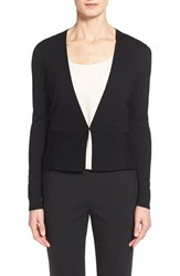 Women's Boss 'Finesie' Wool Cardigan Black