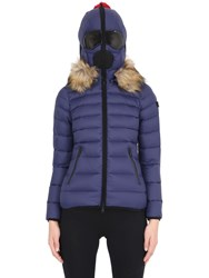 Ai Riders On The Storm Zip Up Nylon Micro Ripstop Down Jacket