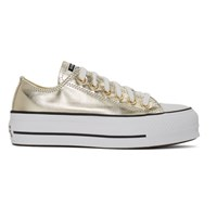 Converse Gold Chuck Taylor All Star Lift Sneakers
