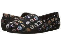 Skechers Bobs From Bobs Plush Pup Smarts Black Slip On Shoes