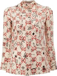 Guccighost Blouse White