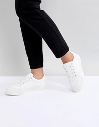 Asos Design Dee Dee Mid Top Trainers White