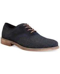 Calvin Klein Jeans Oris Denim Lace Up Shoes Men's Shoes Midnight Blue