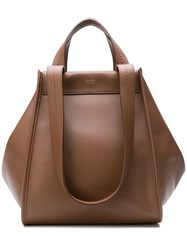 Max Mara Anit Tote Bag Brown