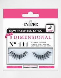Eylure 3 Dimensional Lashes No. 111 3 Dimensional 111 La Black