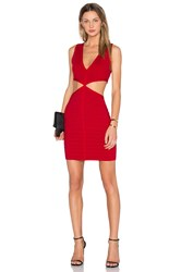 Nbd X Naven Twins Socialite Bodycon Dress Red