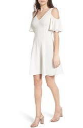 Soprano Women's Cold Shoulder Dress
