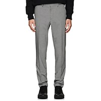 Rag And Bone Patrick Puppytooth Wool Blend Trousers Black