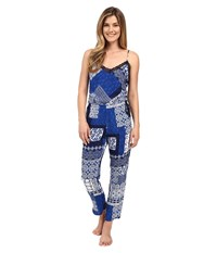 Josie Global Thrill Jumpsuit Navy Women's Jumpsuit And Rompers One Piece