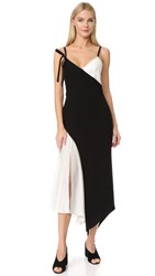 Cinq A Sept Kaidin Dress Black Ivory