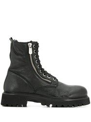 Rocco P. Lace Up Ankle Boots Black