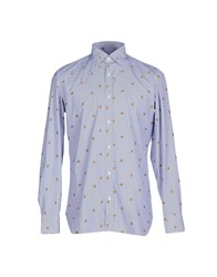 Giampaolo Shirts Shirts Men Blue