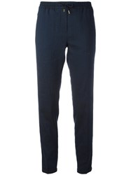 Woolrich Tapered Leg Joggers Blue
