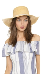 Hat Attack Raffia Braid Mini Sunhat Natural White