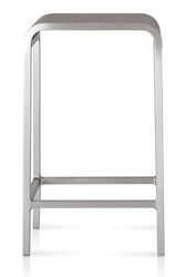 Emeco 20 06 Counter Stool Silver