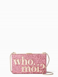 Kate Spade Disney Miss Piggy Collection By New York Who Moi Clutch Multi
