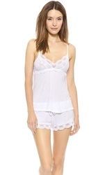 Eberjey India Lace Camisole White