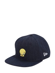 New Era 9Fifty Tweety Cotton Baseball Hat Blue