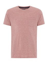 Linea Austin Cotton Crew Neck T Shirt Red