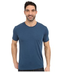 Royal Robbins Go Everywhere Tee Phoenix Blue Men's T Shirt