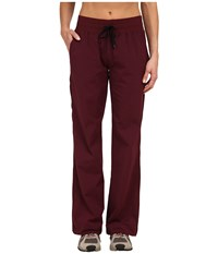 Black Diamond Sinestra Pants Merlot Women's Casual Pants Red