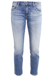 Replay Katewin Slim Fit Jeans Blue Destroyed Denim