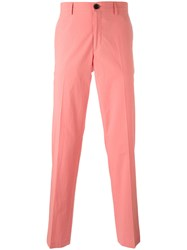 Paul Smith Ps By Classic Tailored Trousers Pink Purple