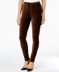 Style And Co Corduroy Leggings Created For Macy's Rich Truffle