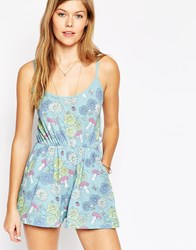 Worn By Tripping Cami Playsuit Multi