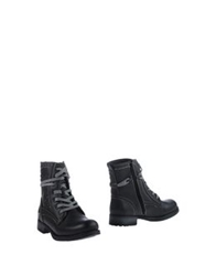 Mustang Ankle Boots Steel Grey