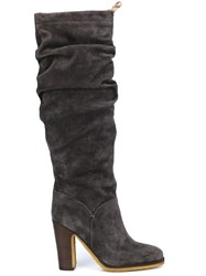 See By Chloe 'Jona' Slouchy Knee Boots Grey