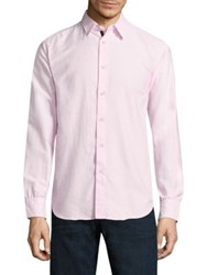 Rag And Bone Strand Casual Button Down Shirt Pink