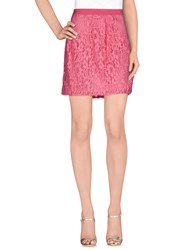 Cristinaeffe Collection Skirts Mini Skirts Women Pink