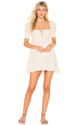 Beach Riot Virgo Dress Ivory