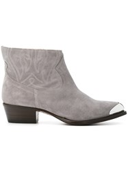 Buttero Boots Grey