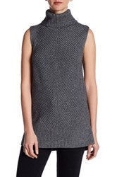 Hugo Boss Turtleneck Knit Sweater Gray