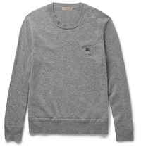 Burberry Cashmere Sweater Gray