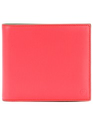 Paul Smith Ps By Contrast Lined Wallet Men Calf Leather One Size Yellow Orange