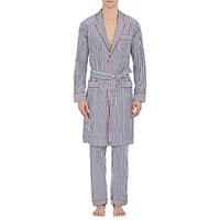 Sleepy Jones Men's Striped Adams Robe No Color