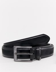 Peter Werth Skinny Belt In Black