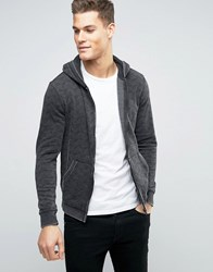 Blend Of America Zip Thru Hoodie 70147 Granine Black
