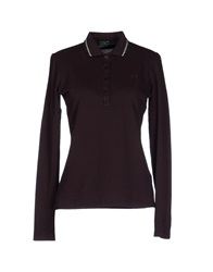 Fred Perry Polo Shirts Deep Purple