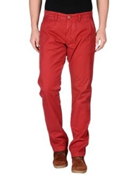 Sun 68 Casual Pants Brick Red