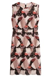 Emilio Pucci Dress With Embroidered Mesh Rose