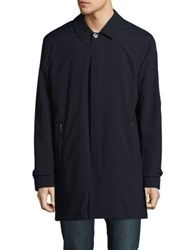 Black Brown Versatile Rain Coat Navy
