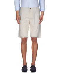 Gaudi' Trousers Bermuda Shorts Men Beige