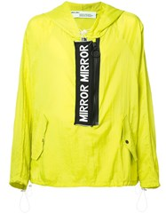 Off White Mirror Mirror Anorak Jacket Yellow Orange